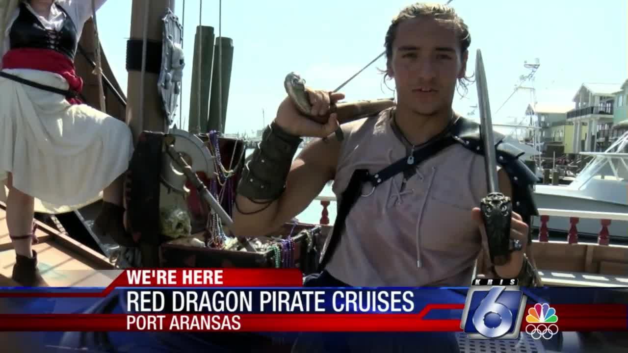 Red dragon pirate cruises