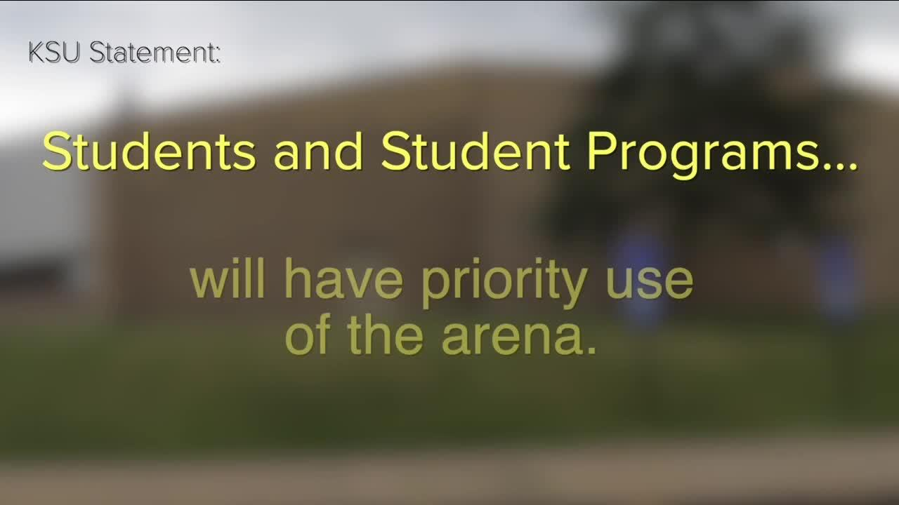 Kent State Marching Band to use ice arena on campus