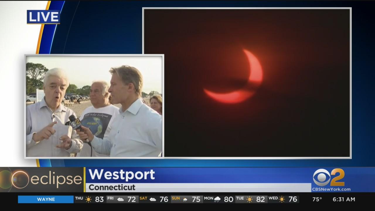 Rare Sunrise Eclipse Wraps Up