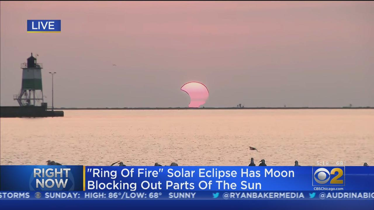 'Ring Of Fire' Eclipse Visible From Chicago