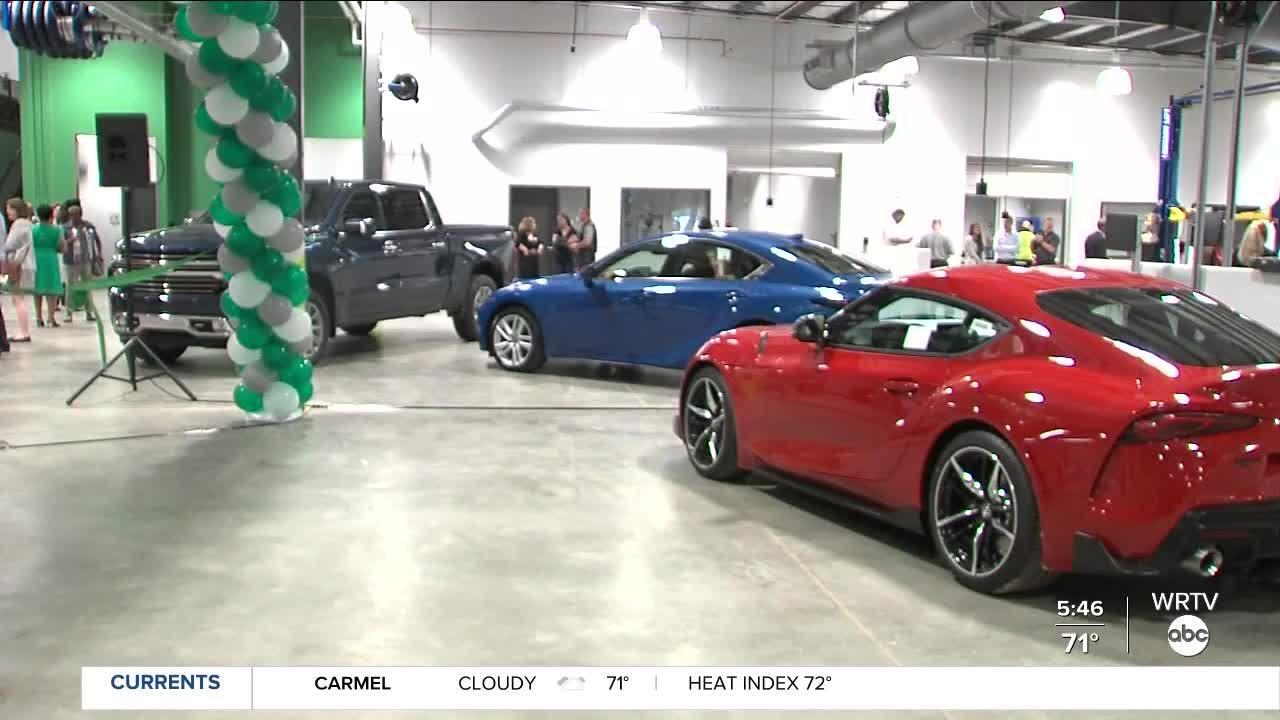 Ivy Tech opens new Automotive Technology Center