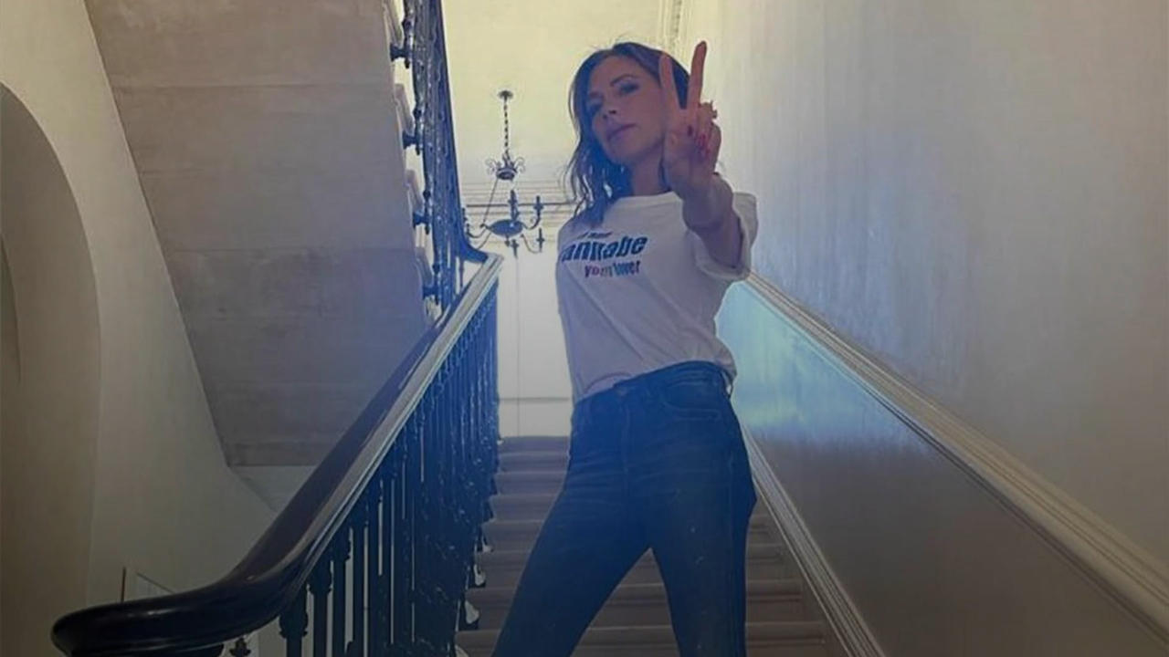 Victoria Beckham releasing Spice Girls-inspired T-shirt to celebrate Pride Month
