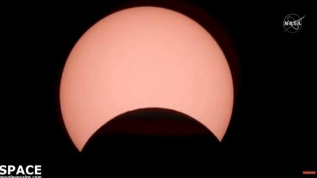 See 'ring of fire' eclipse light up the sky