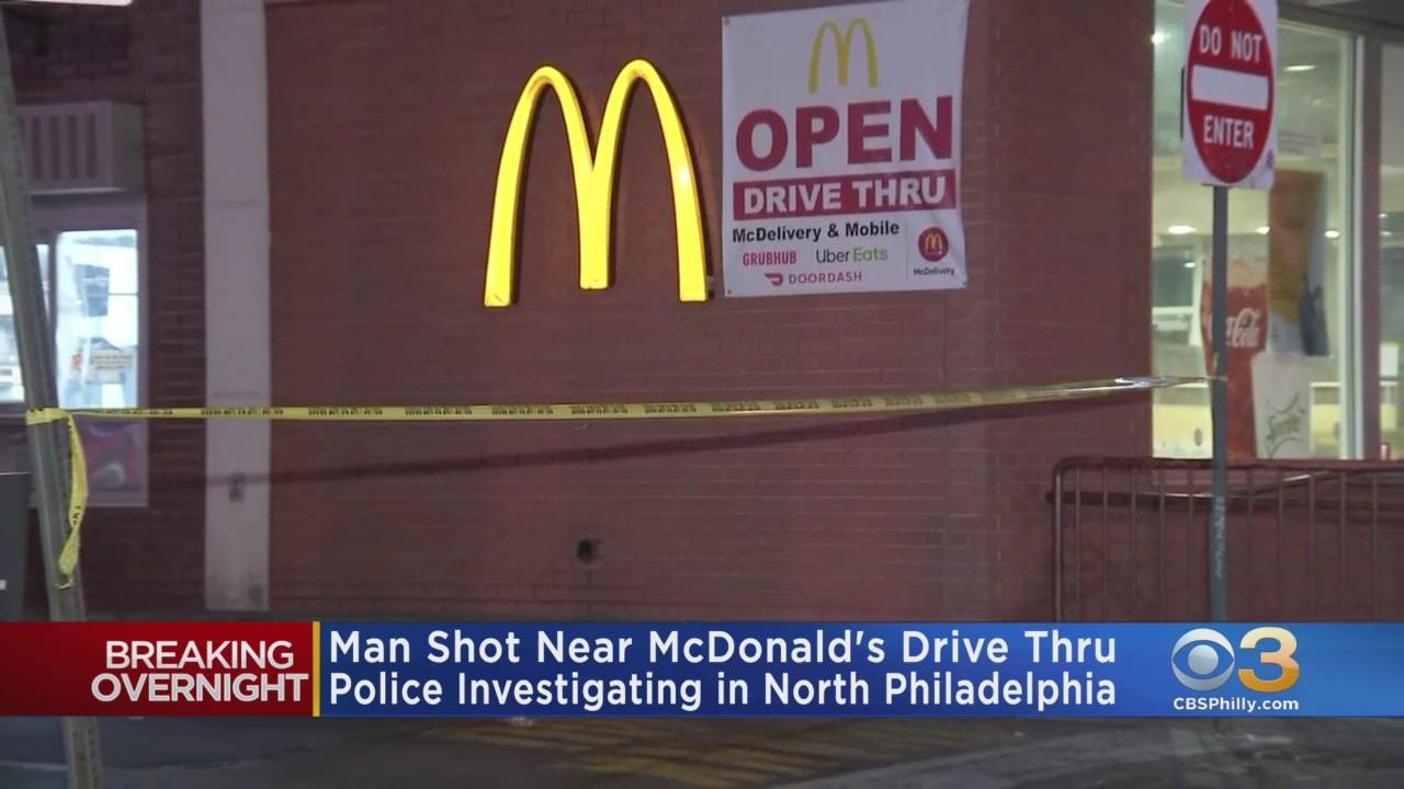 Man Shot Near McDonald's Drive Thru In North Philadelphia