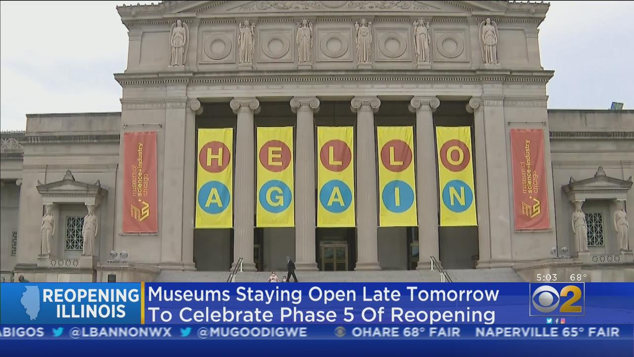 Five Chicago Museums To Stay Open Late On Friday To Celebrate State's Full Reopening