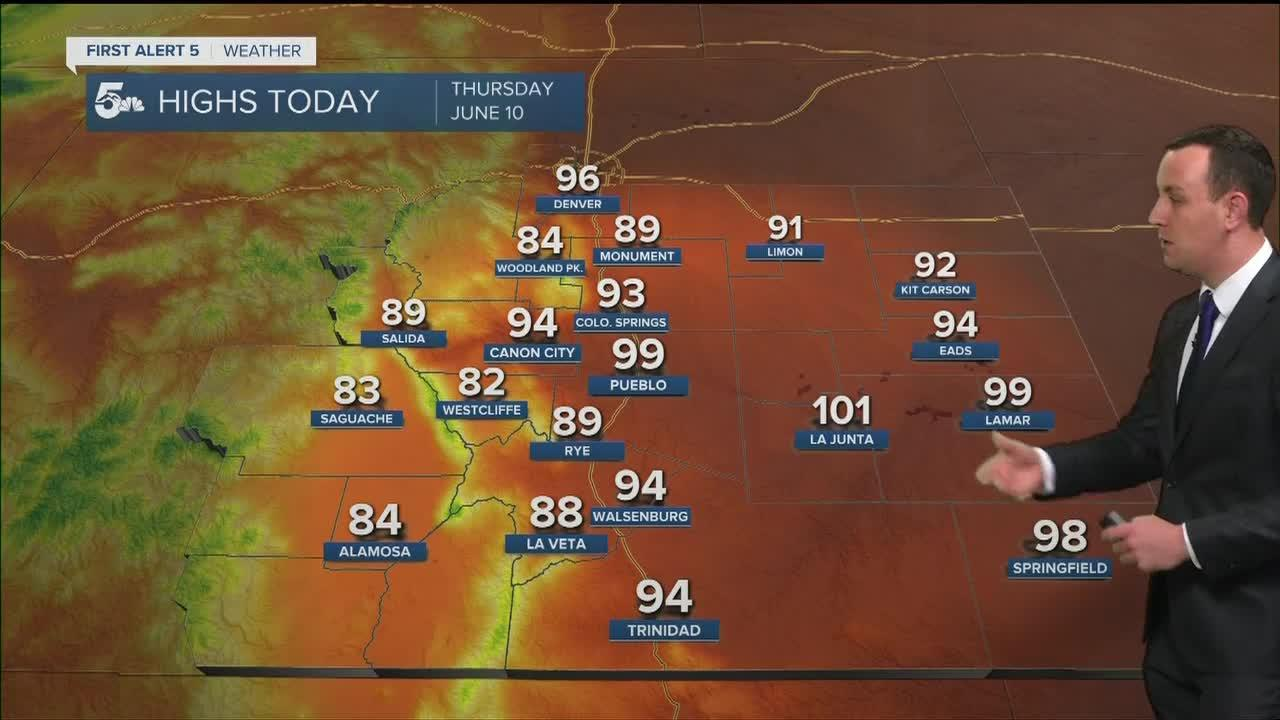 Today will be the hottest day of the year so far!
