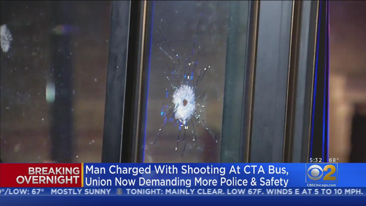 Man Charged With Attempted Murder For Shooting At CTA Bus After Being Denied Ride For Not Wearing Mask