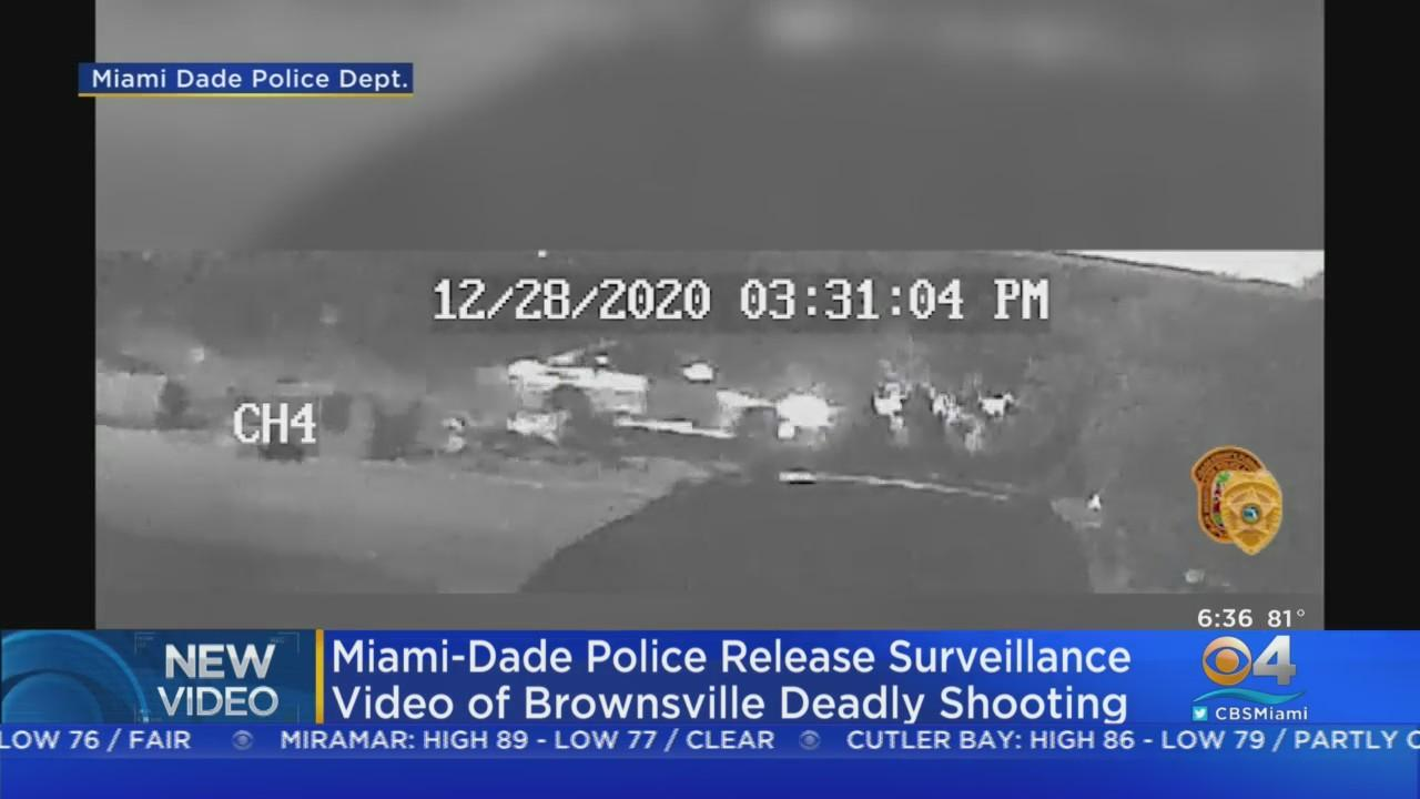 Miami-Dade Police Release Video Of Deadly Brownsville Shooting