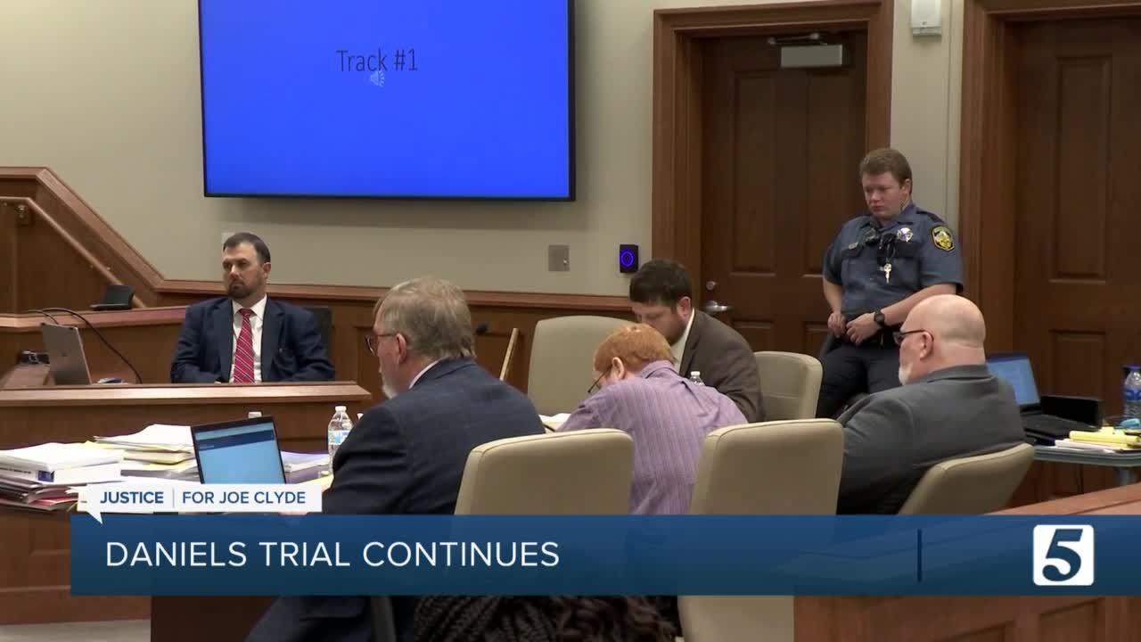 Day 7 of Joseph Daniels trial: Witness testimony to continue