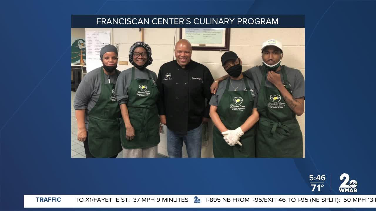 Congrats to the first graduating class of the Franciscan Center's Culinary Training program