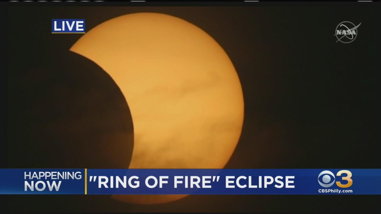 'Ring Of Fire' Solar Eclipse