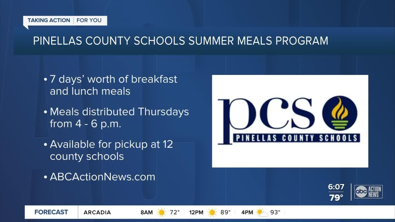 LIST: Pickup locations for Pinellas County Schools summer meals