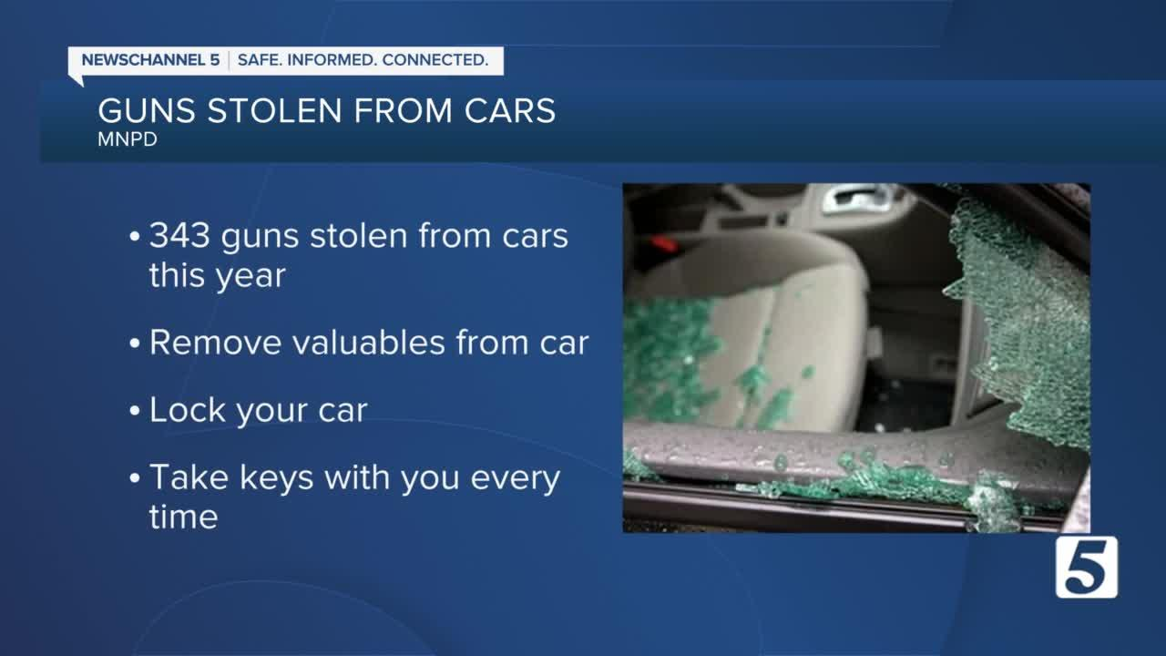 Police report increase in vehicle break-ins, urge drivers to lock their doors