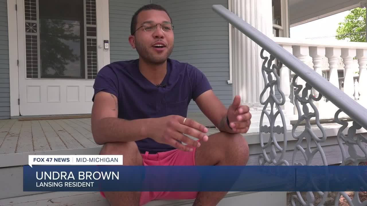 Lansing resident Undra Brown