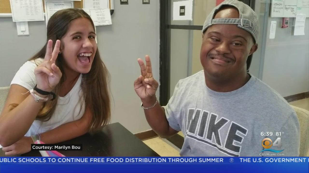 Miami Proud:  Outstanding Teen Volunteer At Wow Center Shares Lesson Of Inclusiveness