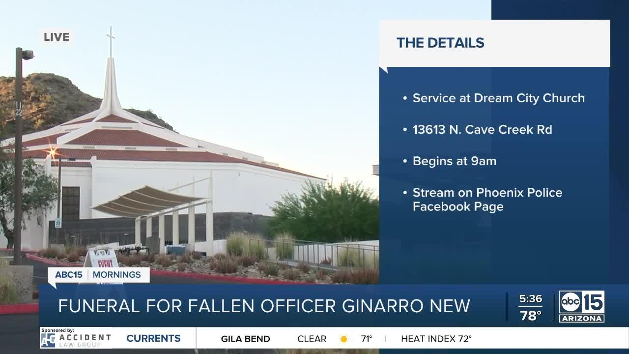 Funeral for Officer Ginarro New to take place on Thursday