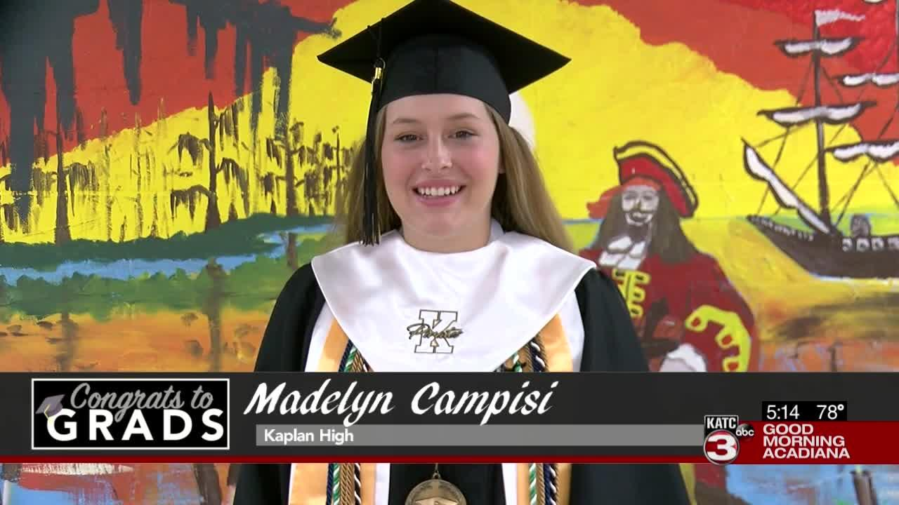 Congrats to Grads: Madelyn Campisi