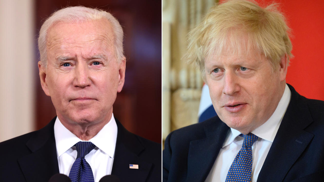 What to expect from Joe Biden's meeting with Boris Johnson
