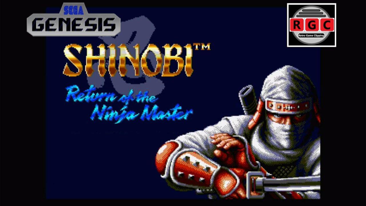 Start to Finish: 'Shinobi III: Return of the Ninja Master' gameplay for Sega Genesis