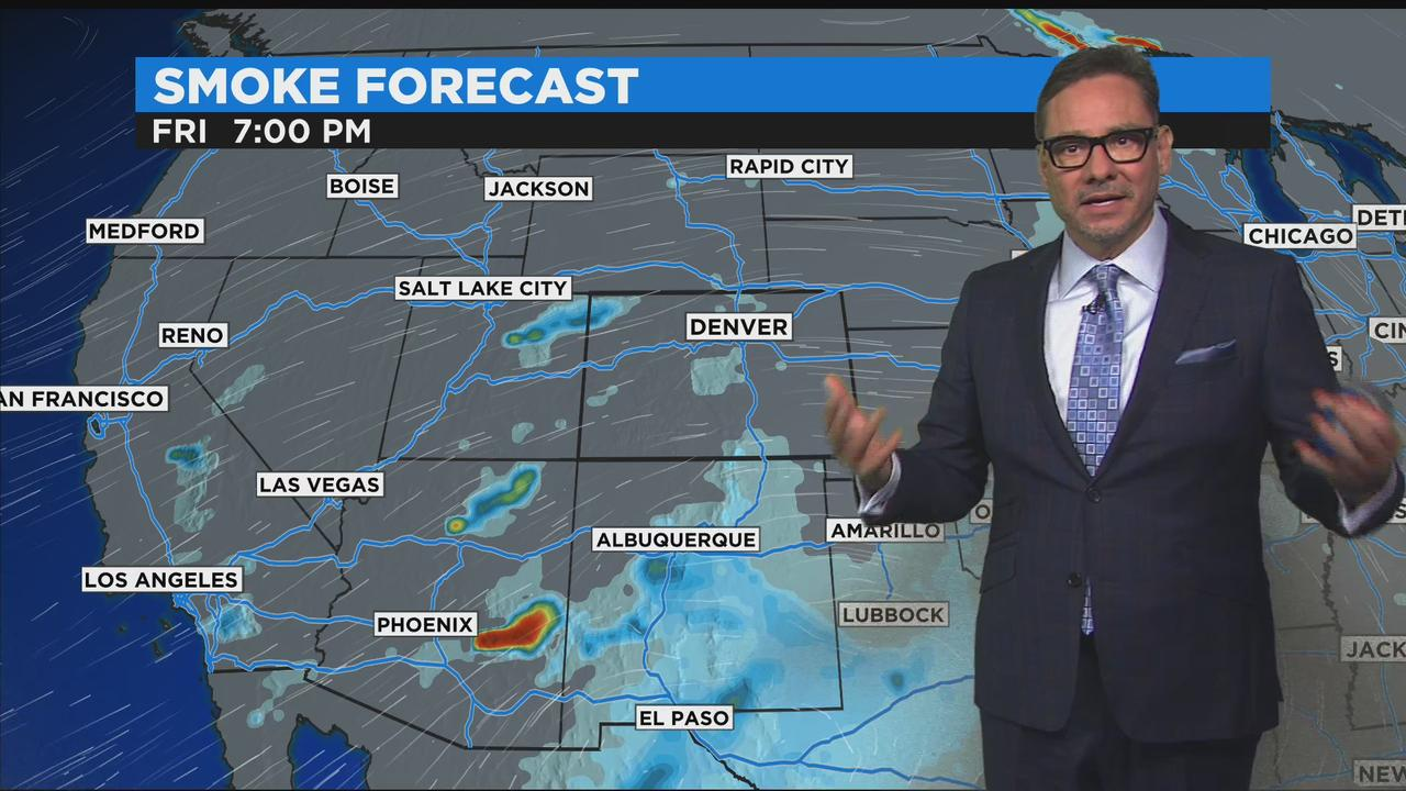 Summer Sizzle Soars Ahead Of A Friday Cool Down