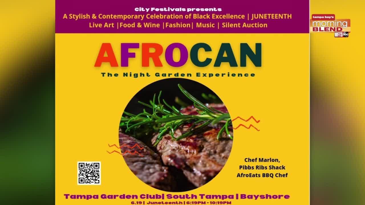 AfroCAN Night Garden Experience | Morning Blend