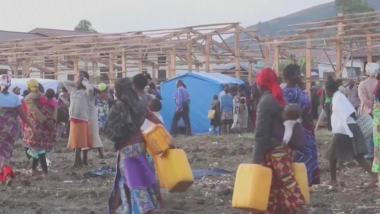 Thousands still displaced after DR Congo volcanic eruption