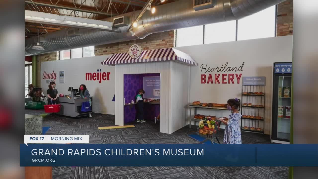 Grand Rapids Children's Museum getting ready to open up