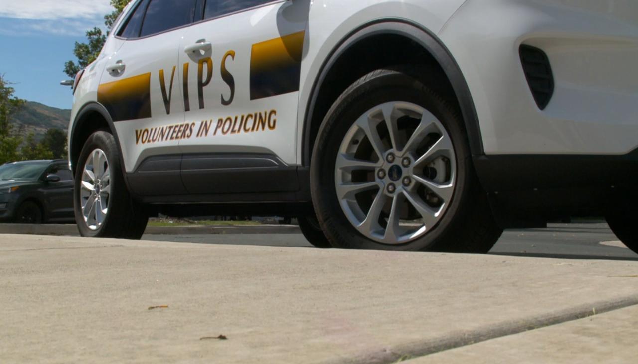 VIPS, Volunteers in Police Services, help Draper Police Department