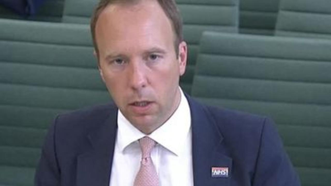 Matt Hancock denies lying to Prime Minister