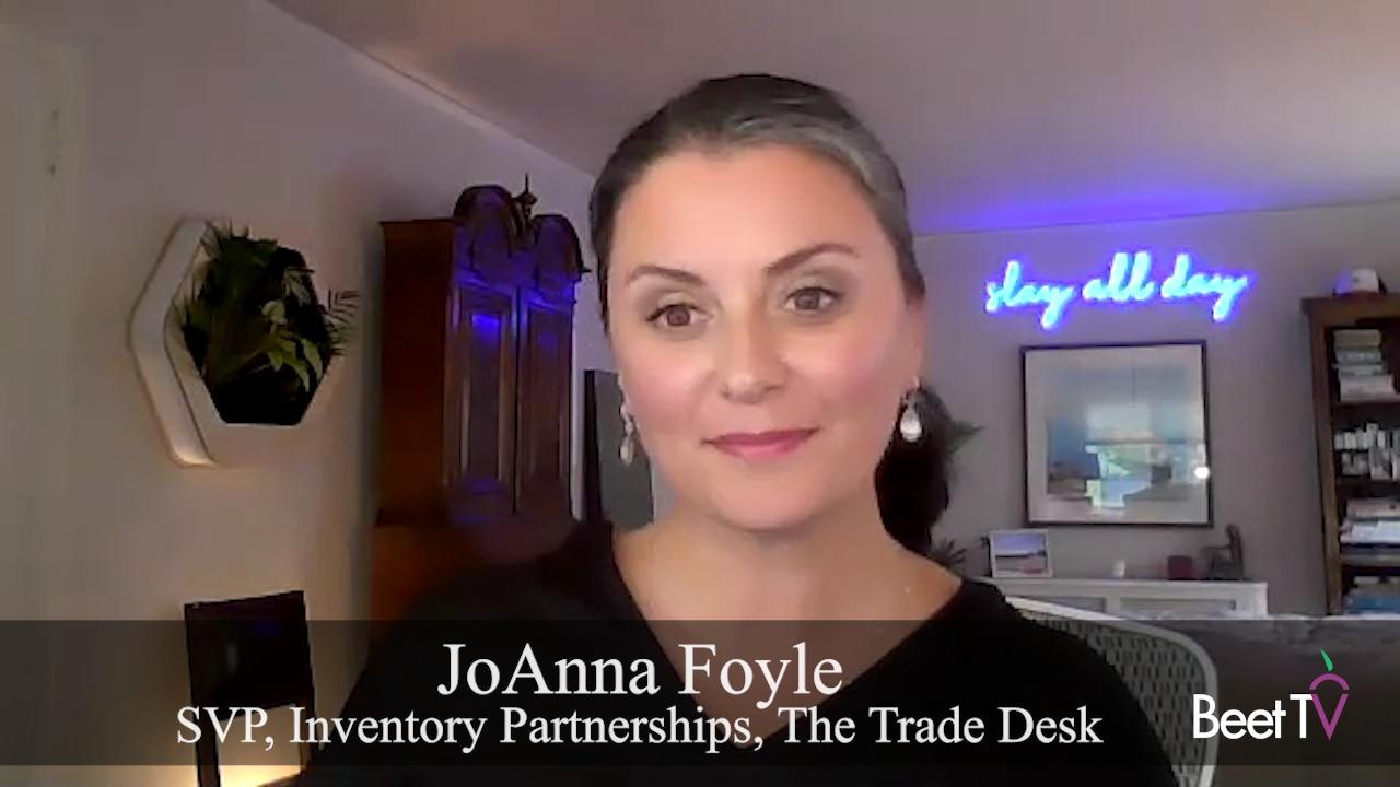 CTV & Open Internet Can Thrive In New World Of Identity: Trade Desk's Foyle