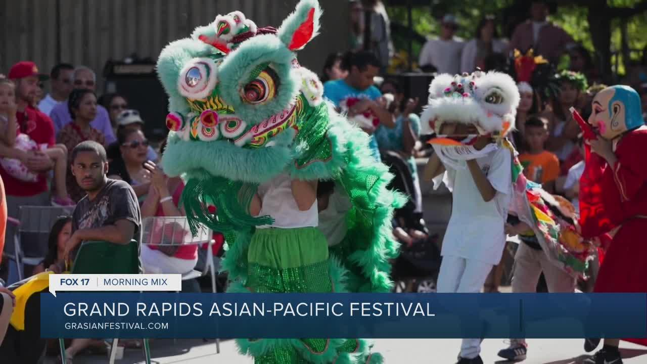 Grand Rapids Asian Pacific Festival taking over Calder Plaza this weekend