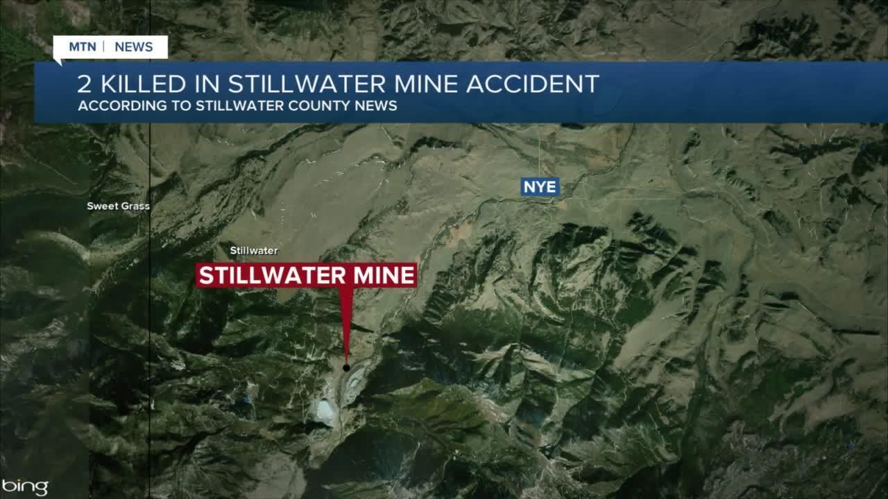 Stillwater Water Mine reports 2 fatalities