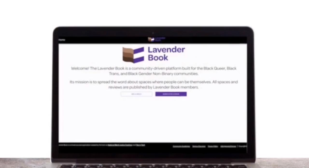 Travel book app provides safe public spaces for Black LGBTQ