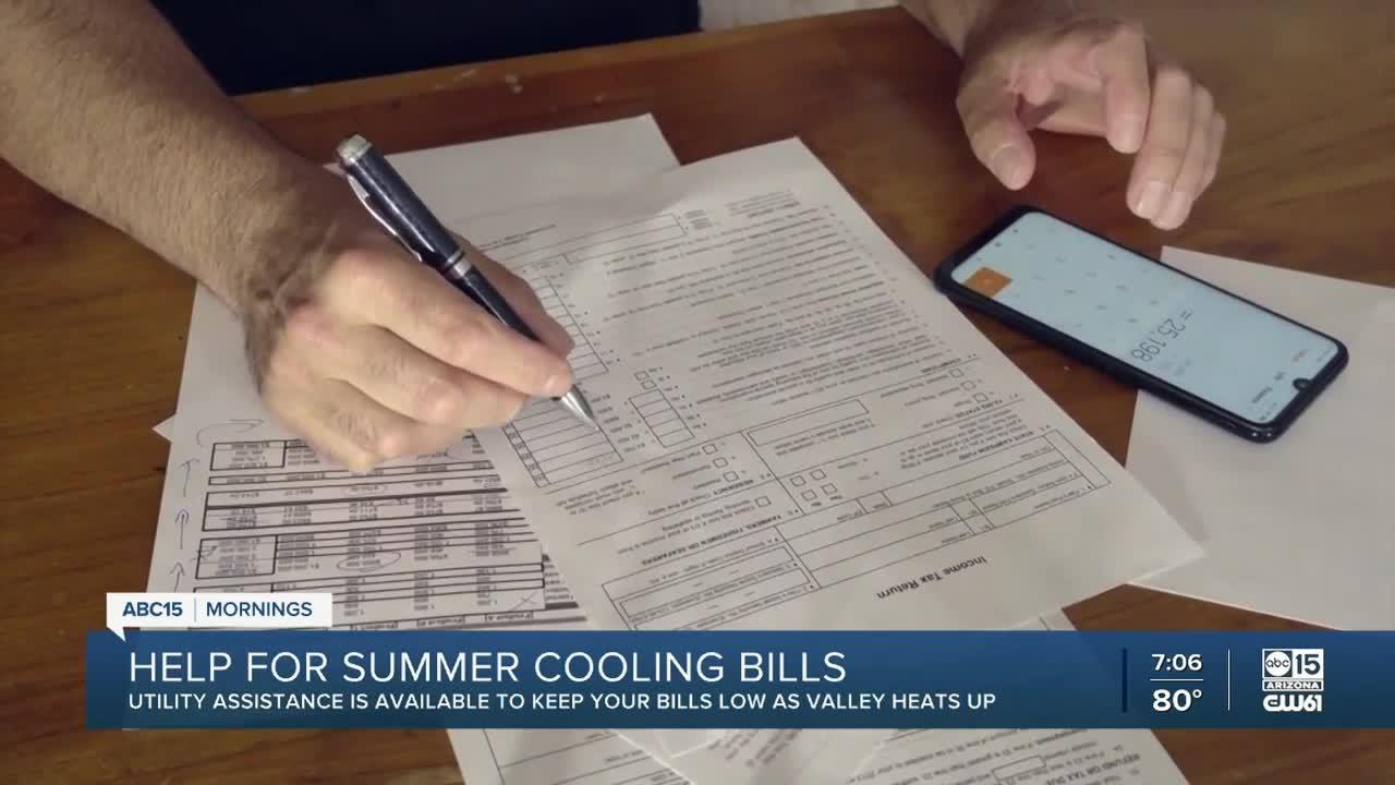 Help for summer cooling bills