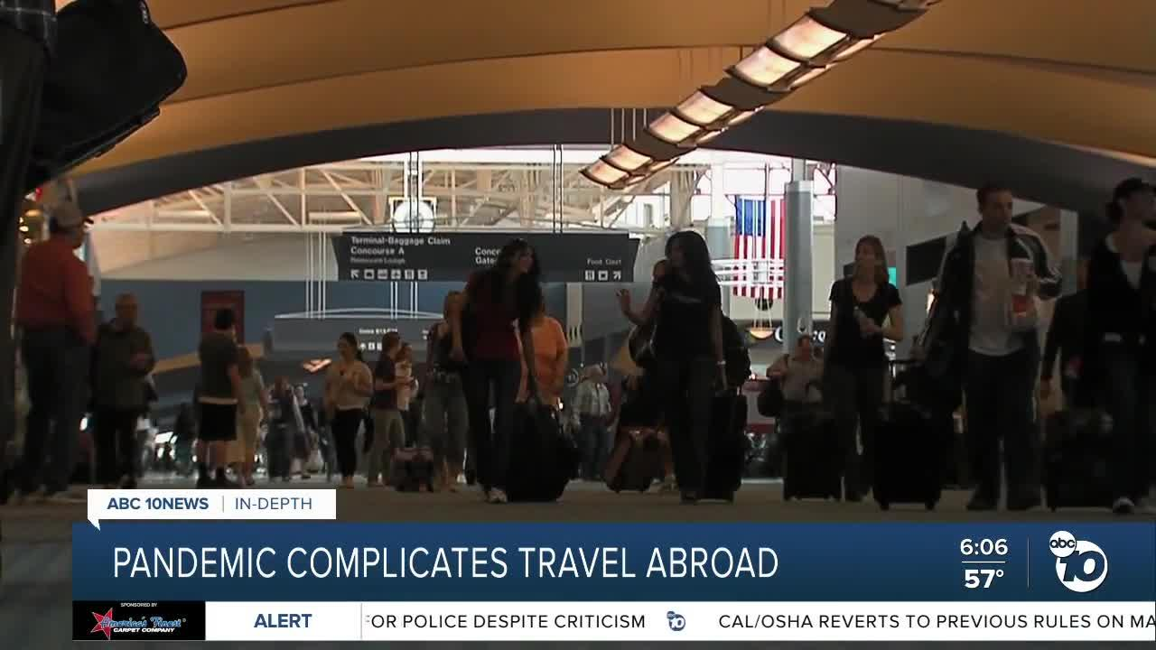 In-Depth: Pandemic complicates international travel for the summer
