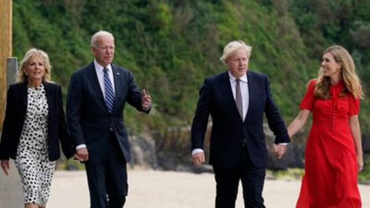 Johnson & Biden meet ahead of G7 summit