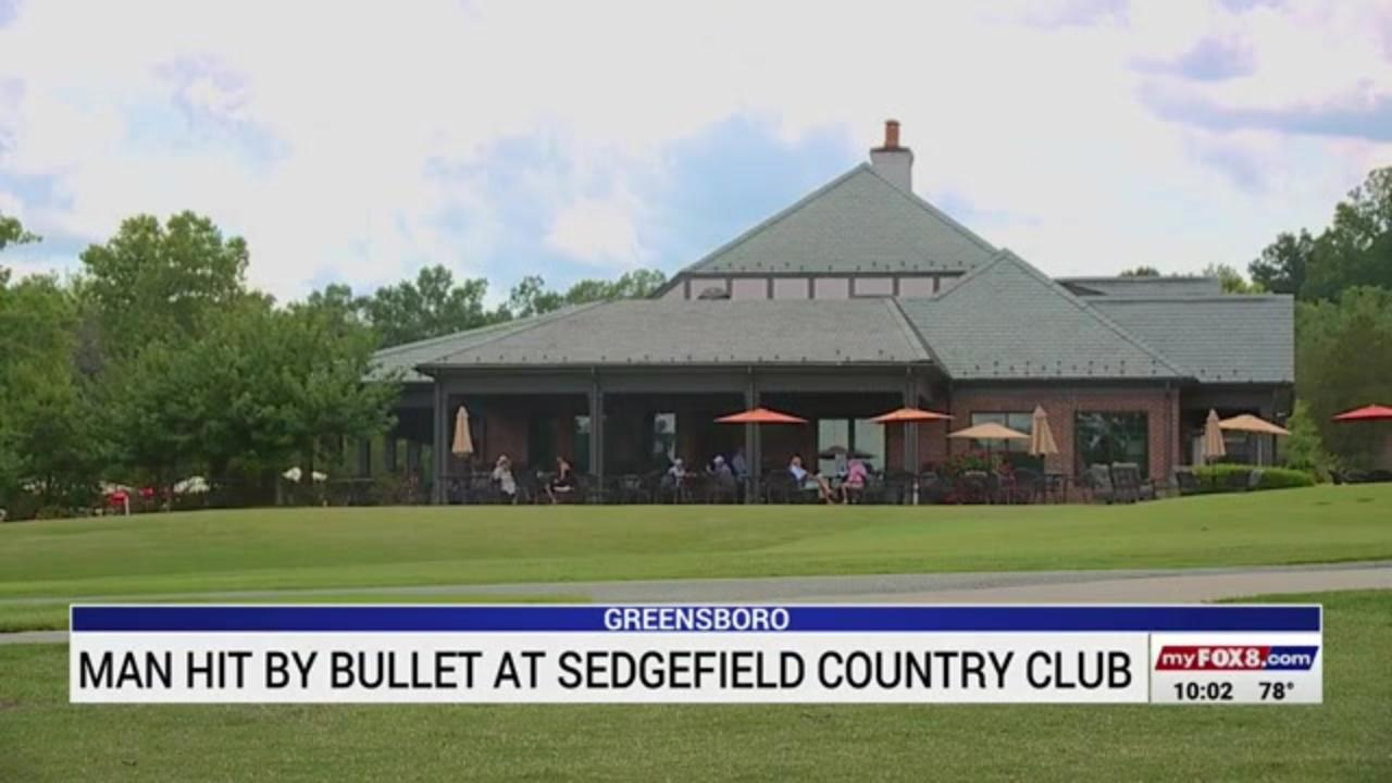 Man struck by mysterious bullet at North Carolina golf club in 'crazy' accident