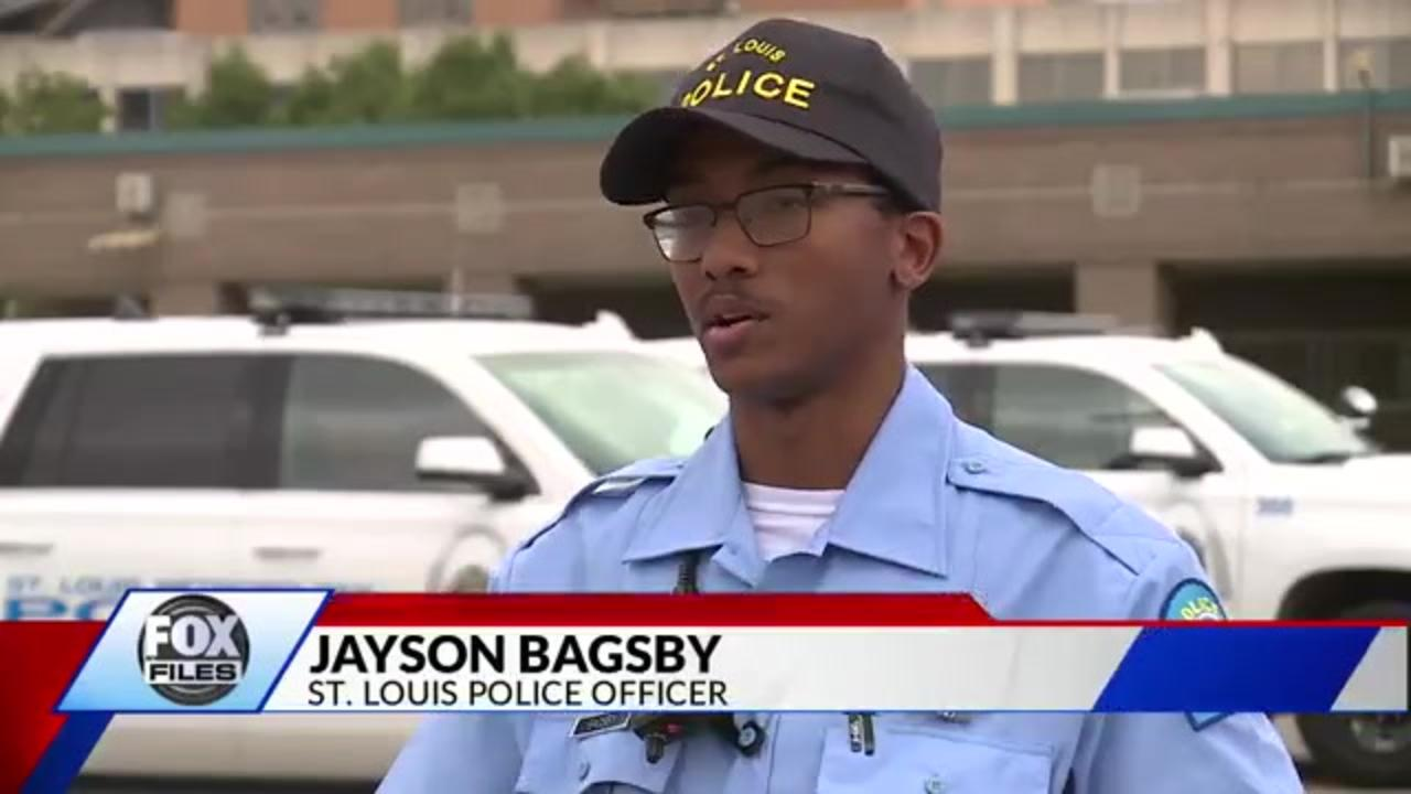 Missouri man whose brother was shot dead makes good on promise to become police officer