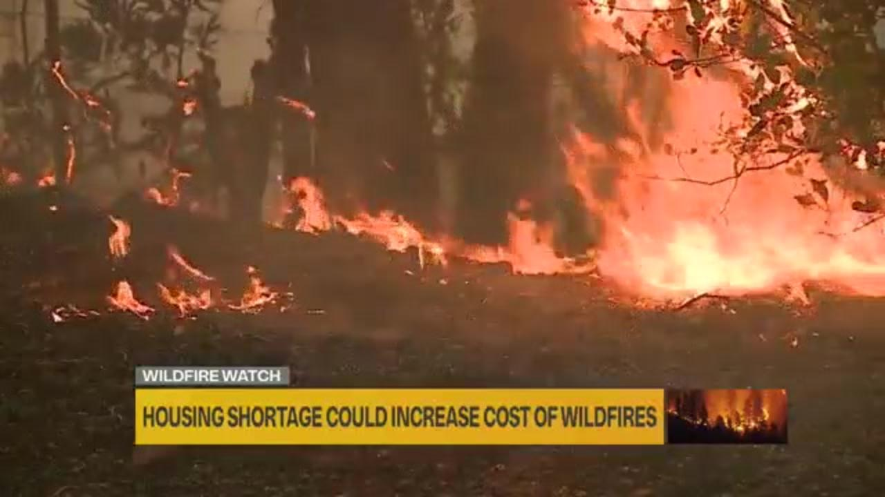 California's housing shortages could increase cost of wildfires