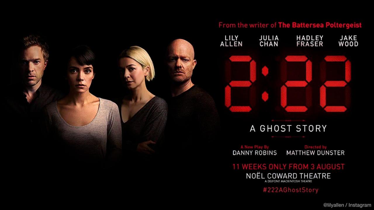 Lily Allen to make West End stage debut in supernatural thriller