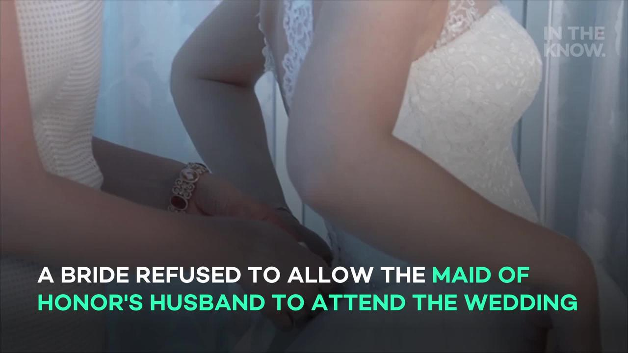 Maid of honor drops out of wedding over bride's 'superficial' demand for her husband