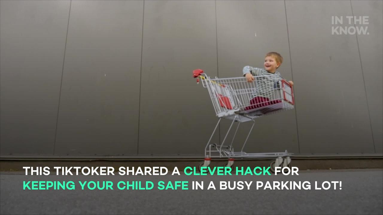 Putting this sticker on the side of your car could save your child's life
