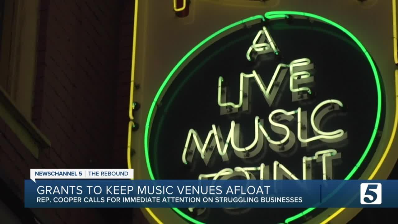 Rep. Cooper calls for more help for Nashville music venues