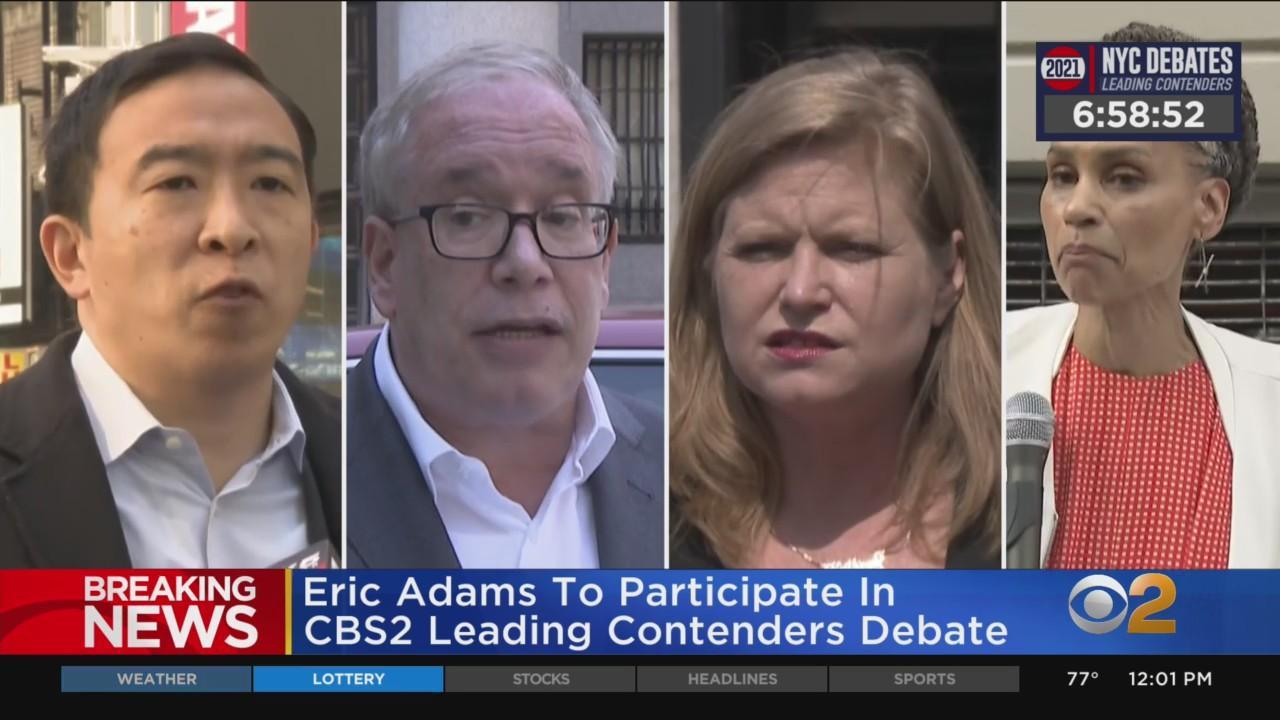 Previewing CBS2's Leading Contenders Mayoral Debate