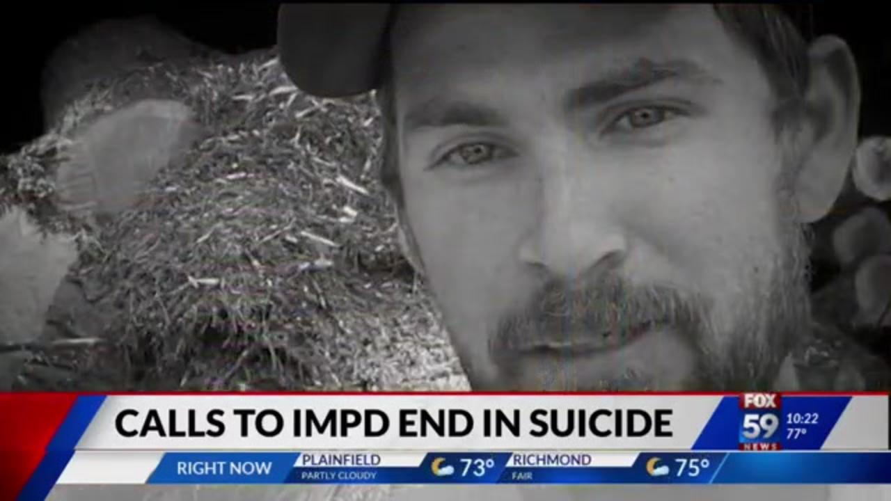 Family says Indianapolis police failed suicidal man on several occasions before he died