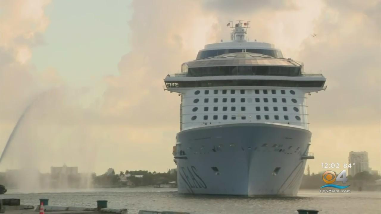 'New Odyssey Of The Seas' Arrives At Port Everglades