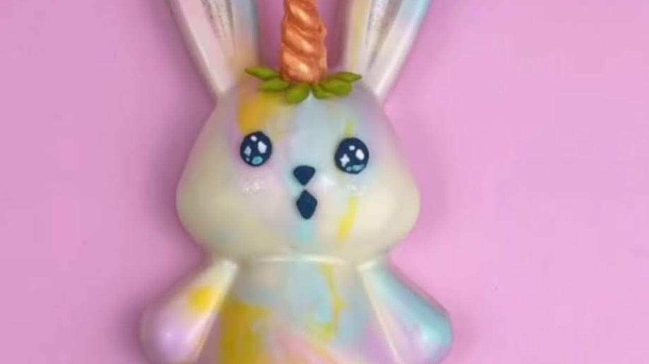 It doesn't get much cuter than this chocolate unicorn bunny
