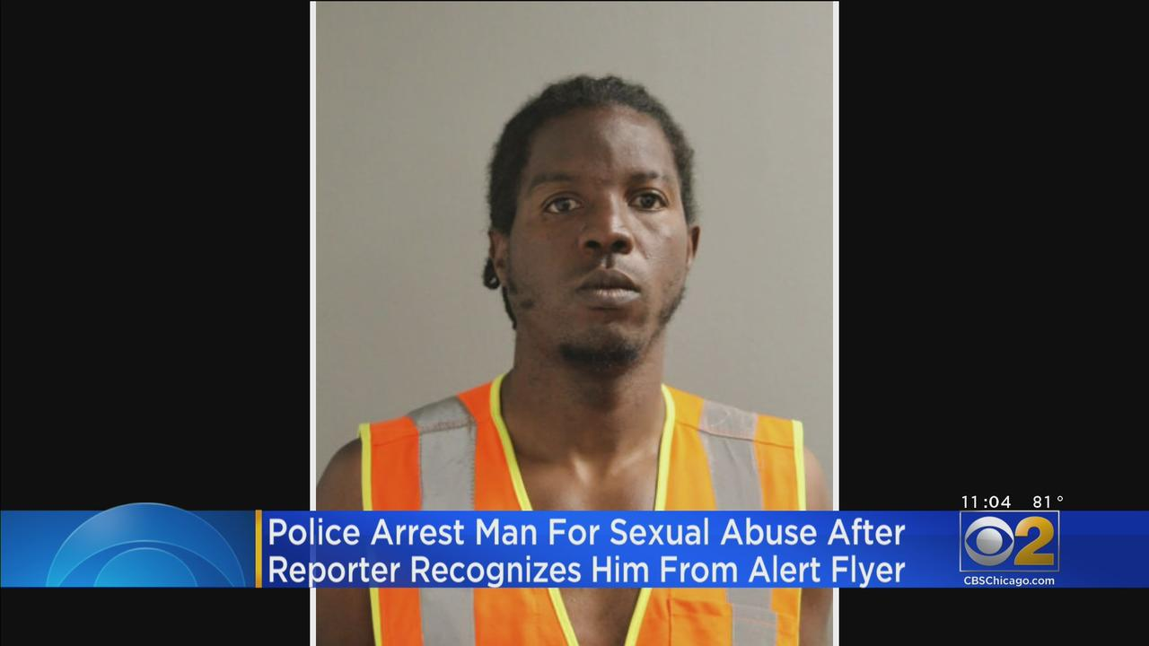 Police Arrest Man For Sexual Abuse After Reporter Recognizes Him From Alert Flyer