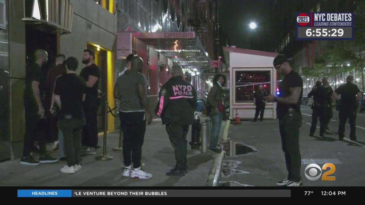 Brooklyn Man Killed In Shooting Outside Manhattan Hotel
