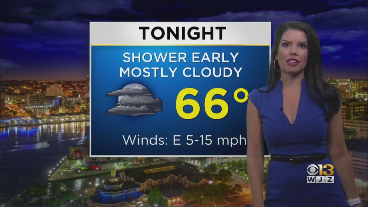 Meteorologist Chelsea Ingram Has Your Thursday Afternoon Weather